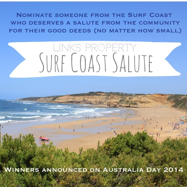 The Surf Coast Salute gains some exposure in the Times. Who have you nominated?