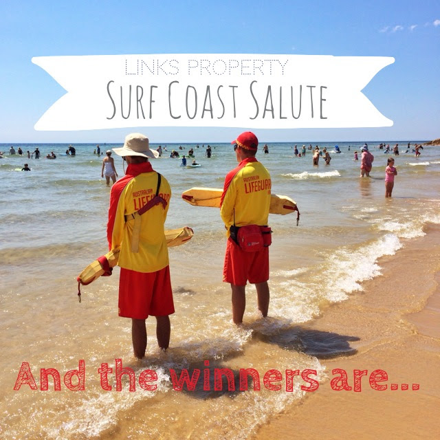 The Surf Coast Salute. And the winners are...