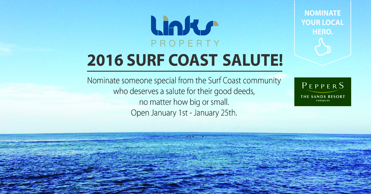 LINKS Property 2016 Surf Coast Salute