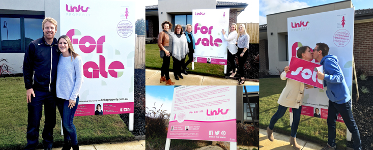 LINKS Property supports Breast Cancer Network Australia pink lady
