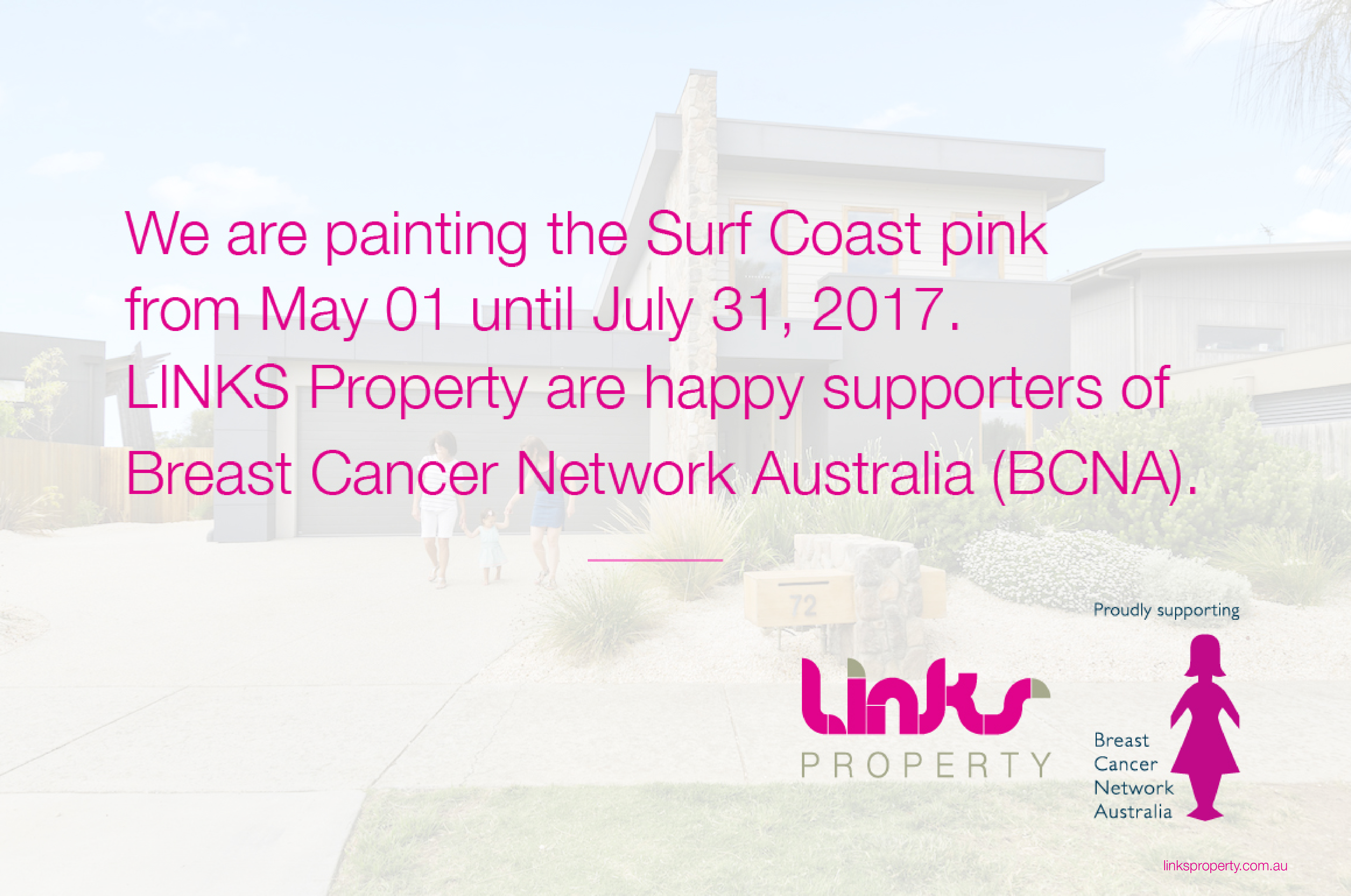Paint It Pink With LINKS Property