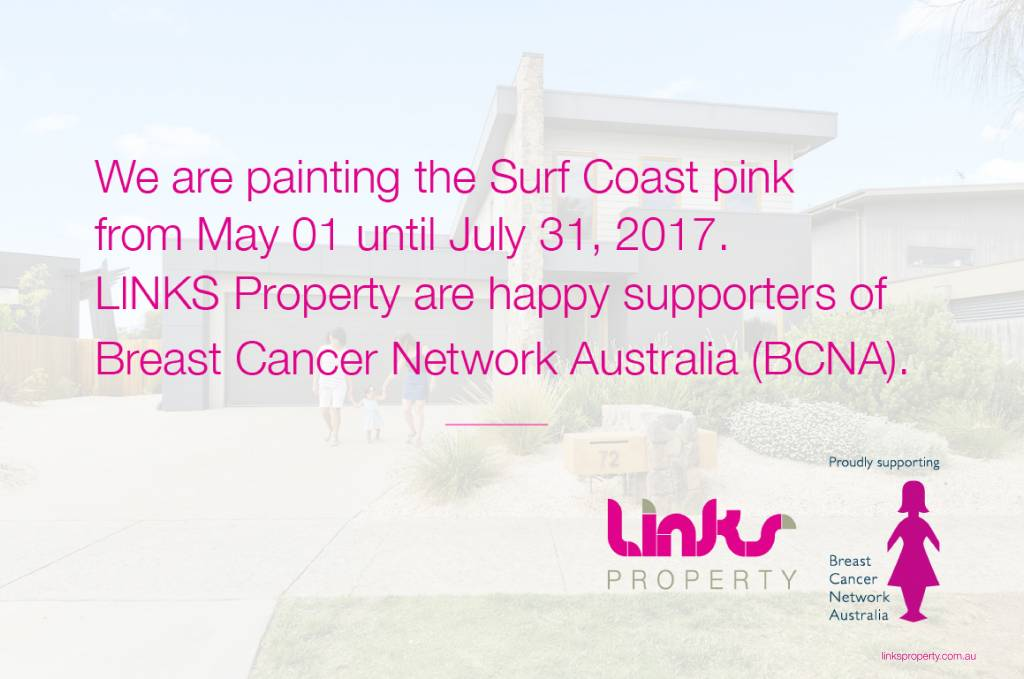 BCNA, Breast Cancer, Links Property, real estate, surf coast