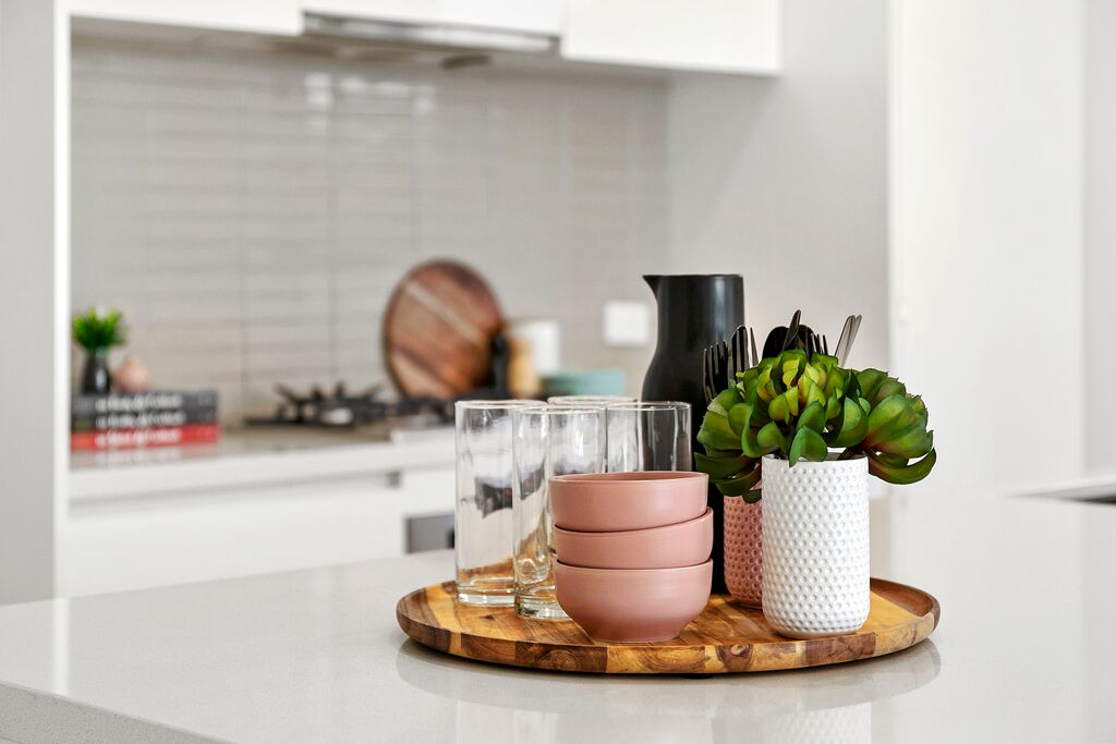 LInks Property kitchen styling tips